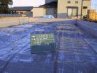 防湿フィルム敷き